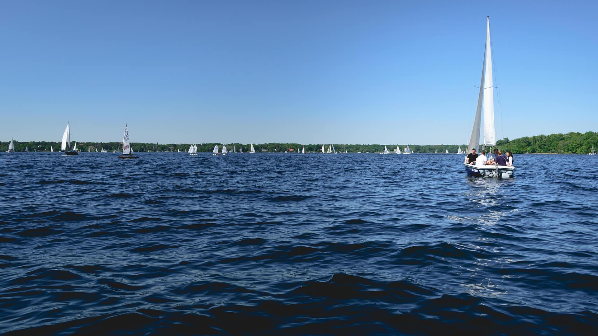 Wannsee Sailing