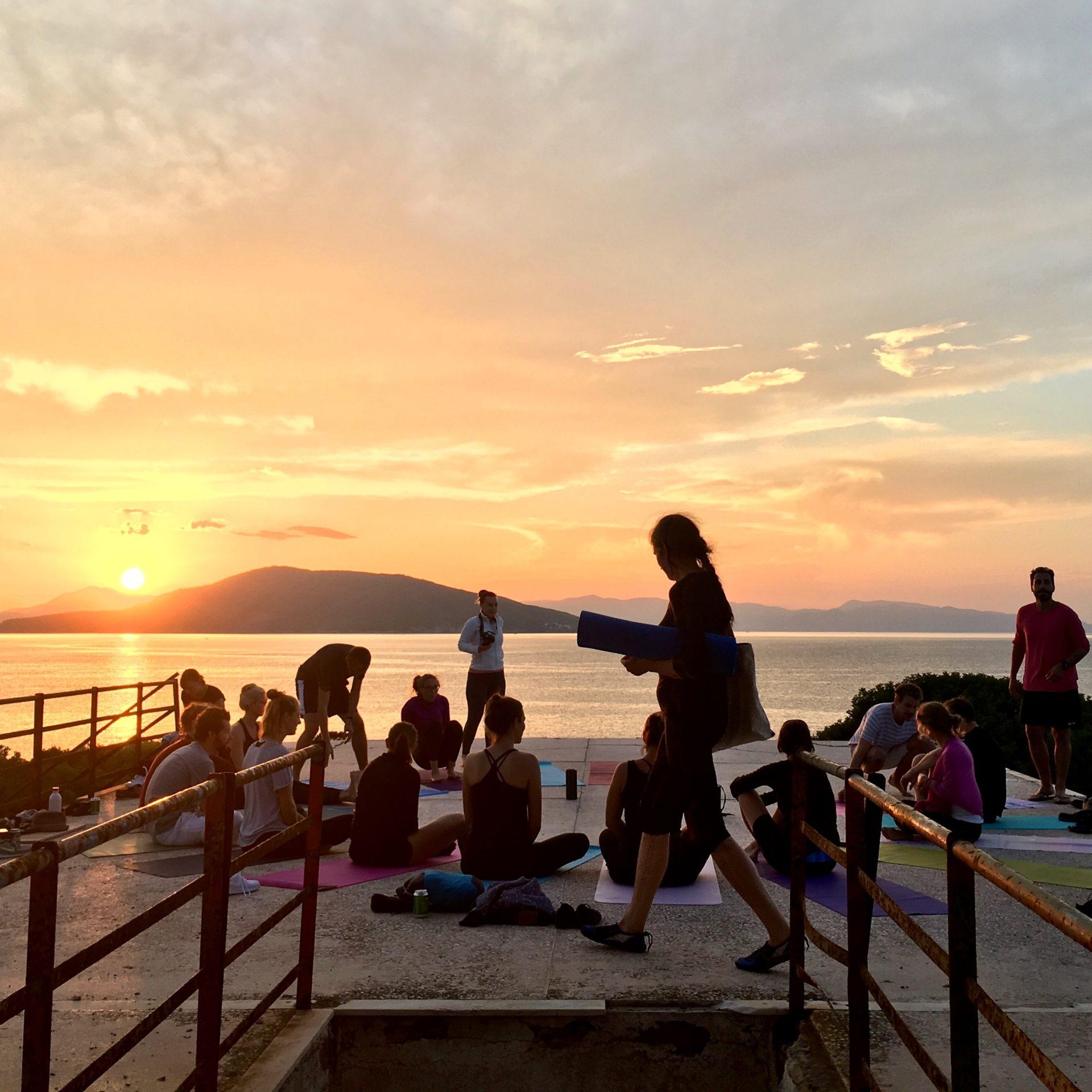 Sail & Yoga in der griechischen Inselwelt