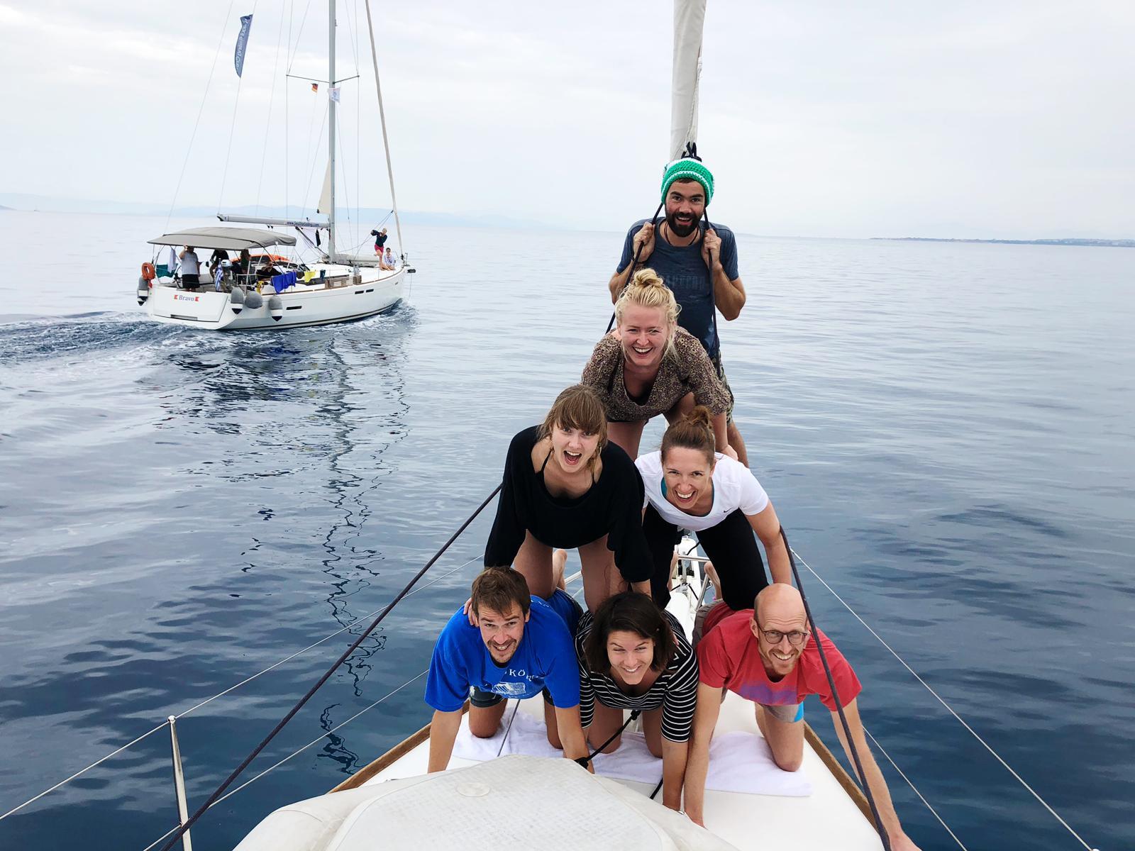 Sail & Yoga mit Chris und Uwe